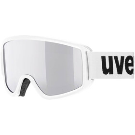UVEX Topic FM Gafas, white/mirror silver